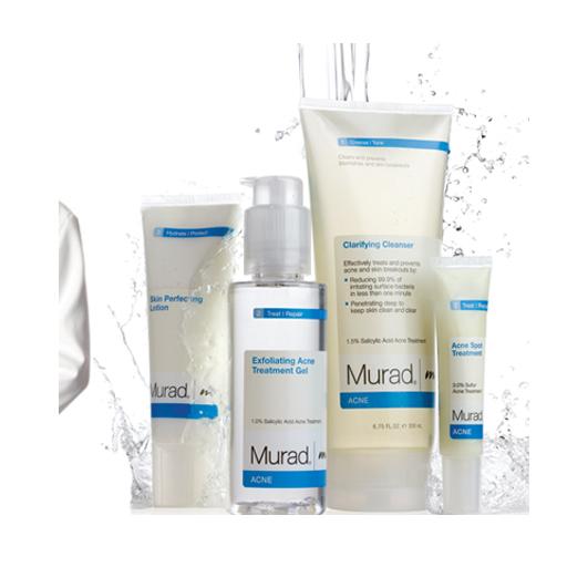 murad huidverzorgingsproducten voor een stralend jonge huid