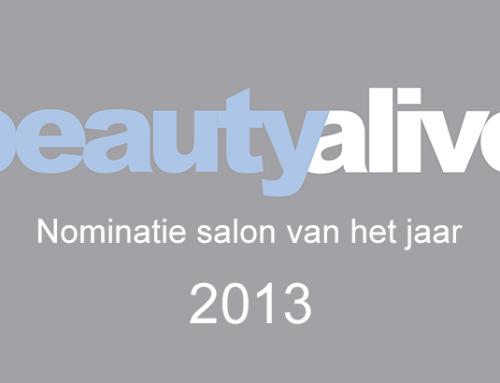 Nominatie Extenso SkinCare Salon van het jaar 2013!